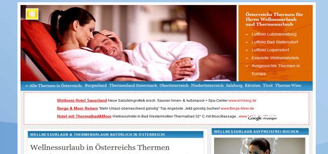 Alle Thermen in Österreich