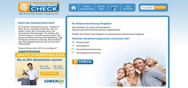 ReiseschutzCheck