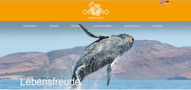 OCEANO Meerzeit Reisen - Whale Watching