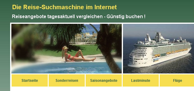 Reise-Suchmaschine