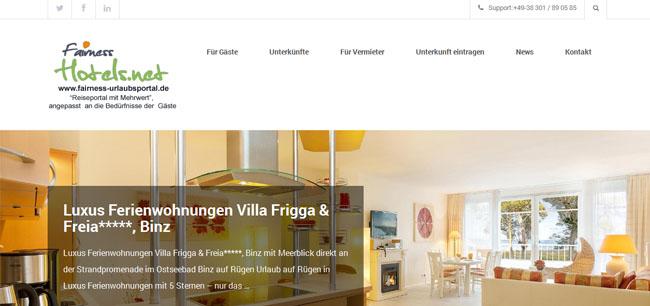 FairnessHotels.net  - Das Reiseportal für den modernen Tourismus