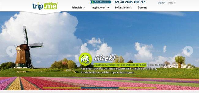 trip.me - Reiseportal für maßgeschneiderte Rundreisen