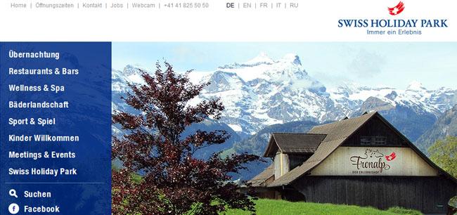 Familienhotel und Ferienwohnungen Schweiz
