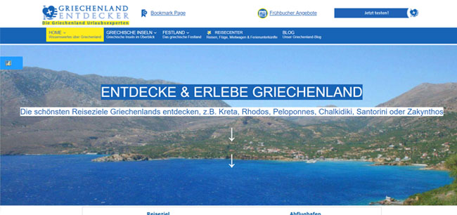 Griechenland-Entdecker | Der Griechenland-Reiseführer