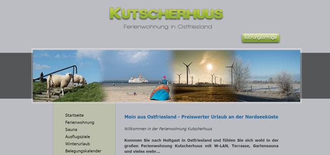 Das Kutscherhuus – Für einen entspannten Urlaub in Holtgast